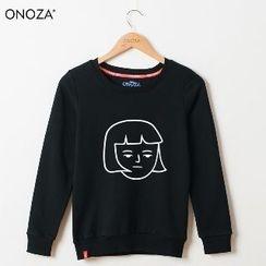 Onoza - 印花衛衣