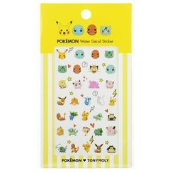 Tony Moly - Pokemon Water Decal Sticker 1pc