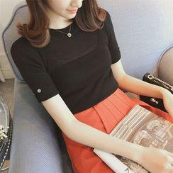 Diado - Short Sleeve Knit Top