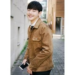 JOGUNSHOP - Corduroy Button Jacket
