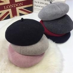 Pompabee - 针织贝雷帽
