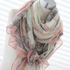 Cuteberry - Printed Long Scarf