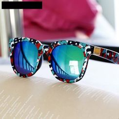 MOL Girl - Mirrored Printed Sunglasses