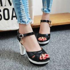 Pastel Pairs - High Heel Sandals