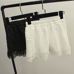 Honey House - Crochet Under Shorts
