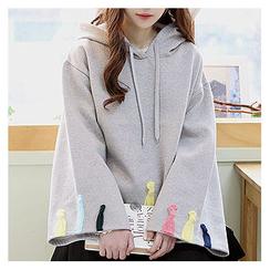 Sechuna - Brushed Fleece Hooded Top