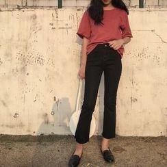 Anyu - 喇叭牛仔裤