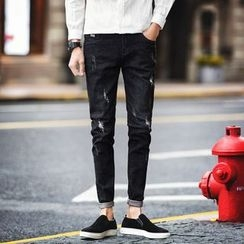 Besto - Distressed Skinny Jeans