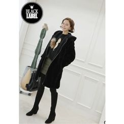 Lemite - Faux-Fur Hooded Coat
