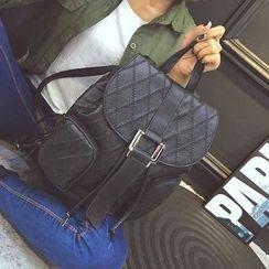 Secret Garden - Faux Leather Backpack