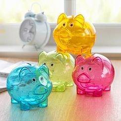 Home Simply - 透明小猪储蓄罐