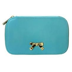 ans - Bow Accent Cosmetic Bag