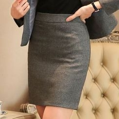 illusione - Pencil Skirt