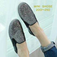 Dodostyle - Glittered Slip-Ons