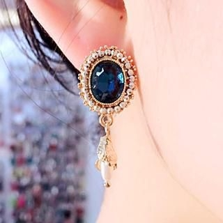 Supermary - Jeweled Beaded Drop Earrings