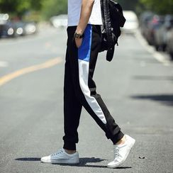 Chic Maison - Color-Block Sweatpants