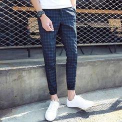 Bay Go Mall - Check Pants