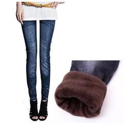 Hyoty - 毛里窄身裤
