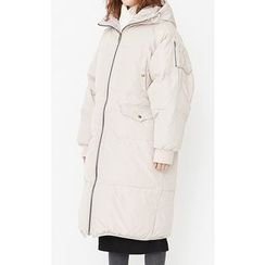 Someday, if - Hooded Duck-Down Thick Padded Coat