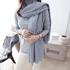 DAILY LOOK - 棉質圍巾