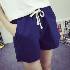 Nycto - Linen Shorts