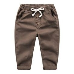 DEARIE - Kids Drawstring Pants