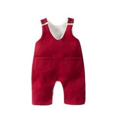 MOM Kiss - Baby Pinafore Jumpsuit