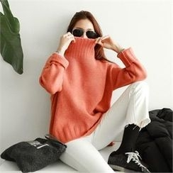PIPPIN - Turtle-Neck Loose-Fit Sweater