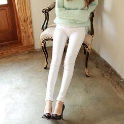 Nassyi - Cropped Skinny Jeans
