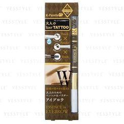 K-Palette - 立体三用精华眉笔 (#03 自然咖啡色)