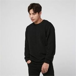 BYMONO - Crew-Neck Zip-Side Sweater