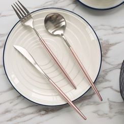 Hashi - Stainless Steel Spoon / Fork / Knife / Dessert Spoon