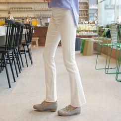 CLICK - Boot-Cut Leggings Pants