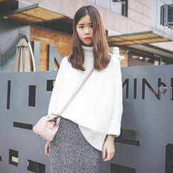 Polaris - Plain Turtleneck Sweater