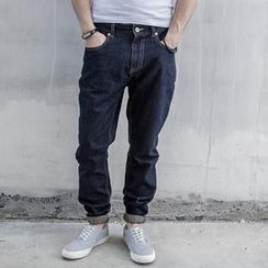YIDESIMPLE - Washed Jeans