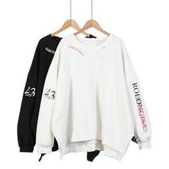 Momewear - Long-Sleeve Loose-Fit Top