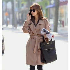 REDOPIN - Flap Trench Coat