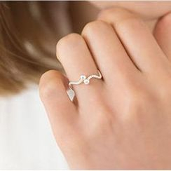 Zundiao - Adjustable Wave Ring
