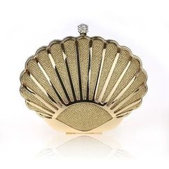 Glam Cham - Scallop Evening Clutch