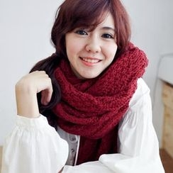 BAIMOMO - Cable-Knit Scarf