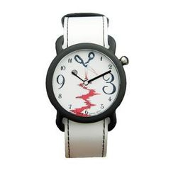 Moment Watches - BE ALERT Time to sharpen Strap Watch