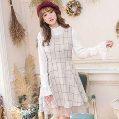 Tokyo Fashion - Check A-Line Dress