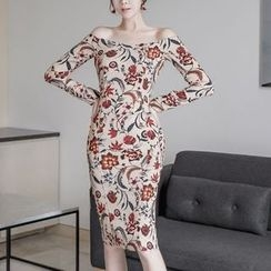 Aurora - Floral Sheath Dress