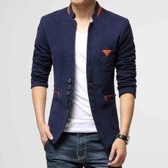 Bestrooy - Mandarin Collar Blazer