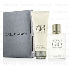 Giorgio Armani - Acqua Di Gio Coffret: Eau De Toilette Spray 50ml/1.7oz + After Shave Balm 75ml/2.5oz