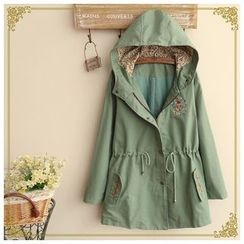 Angel Love - Embroidered Hooded Jacket