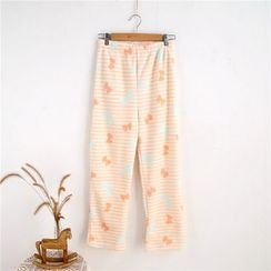 Janseed - Bow Pattern Lounge Pants