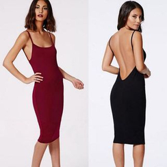 Chika - Open-Back Bodycon Dress