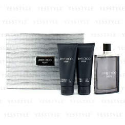 Jimmy Choo - Man Coffret: Eau De Toilette Spray 100ml/3.3oz + After Shave Balm 100ml/3.3oz + All Over Shower Gel