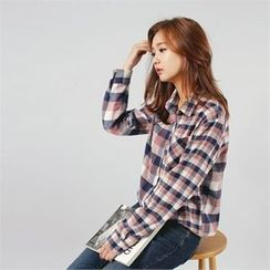 Styleberry - Plain Check Shirt
